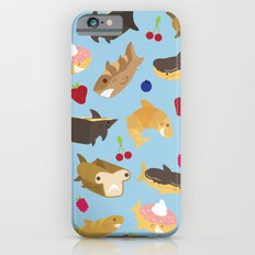 Shark Loafs - Blue iPhone 6 Slim Case