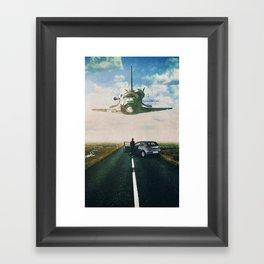 Discovered Framed Art Print