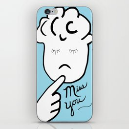ASL Miss You iPhone Skin