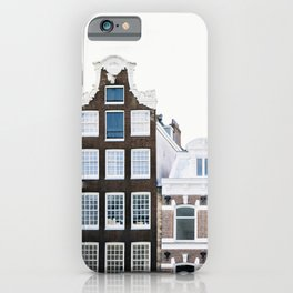 Holland Homes - Amsterdam Travel Photography iPhone Case