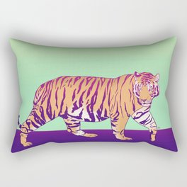 Tiger Under the Sun Rectangular Pillow