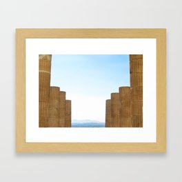 The Acropolis  Framed Art Print