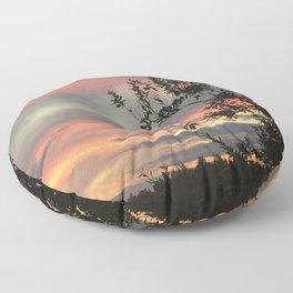 Sky flames Floor Pillow