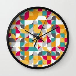 vector Design Deco. Wall Clock
