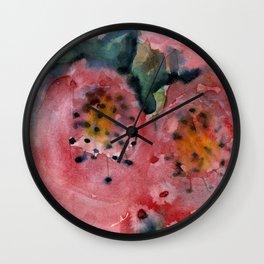 EXPRESSIVE FLORA 1 Wall Clock