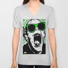 Horror and Tabloid Icon Bat kid Unisex V-Neck