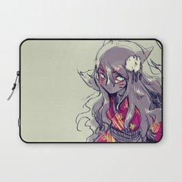Fox girl sketch Laptop Sleeve