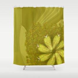Kopophobia Symmetry Flowers  ID:16165-150104-75070 Shower Curtain