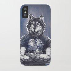 Four Wolf Moon Slim Case iPhone X