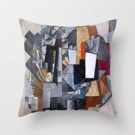 Kazimir Malevich - Bureau and Room Throw Pillow