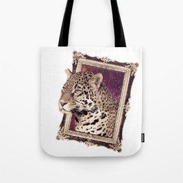 Space Jaguar Tote Bag