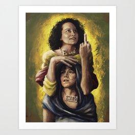 Broad Saints Art Print