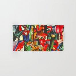 Heinrich Campendonk Bucolic Landscape Hand & Bath Towel