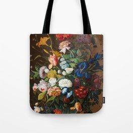 Flower Still Life with Bird's Nest, 1853 Tote Bag