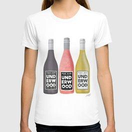 Underwood Wine T-shirt