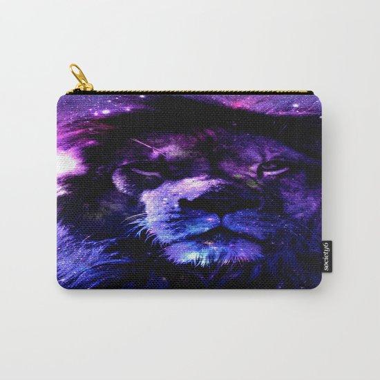 Lion leo purple Carry-All Pouch