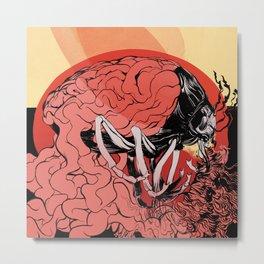 Peaceoffering: Self-Destructive Metal Print