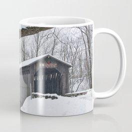 Fallasburg Covered Bridge in Winter Coffee Mug