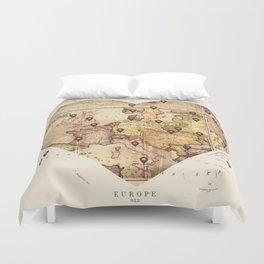 Love to Travel Duvet Cover