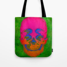 the 4i skull stencil art - 3D Tote Bag