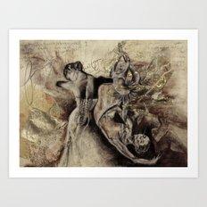 freudian dream Art Print