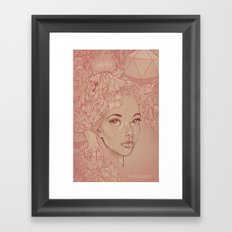 Honey Lamb Framed Art Print