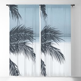 Palm and Ocean Blackout Curtain