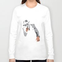 gangster Long Sleeve T-shirts featuring The Gangster by Dulevartiano