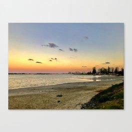 Sunset on the GC Canvas Print