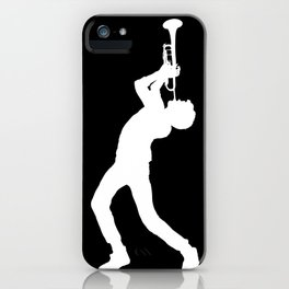 Trumpet Ludwig Blk iPhone Case