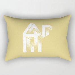 A mirage Rectangular Pillow