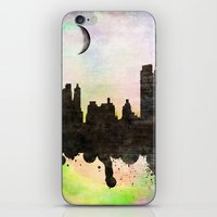 new york iPhone & iPod Skins featuring new York  new York  by mark ashkenazi