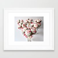 valentines Framed Art Prints featuring Valentines by Catherine Chappel Flaherty