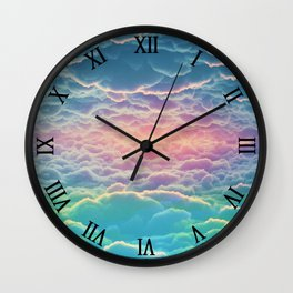 INSIDE THE CLOUDS Wall Clock