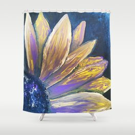 Gloomy Sunflower Shower Curtain