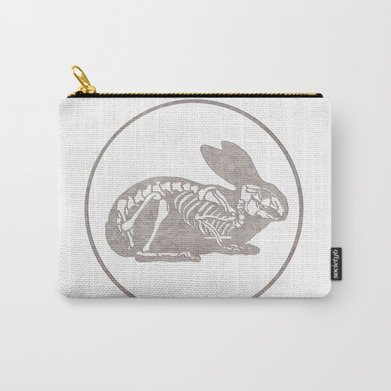 In which a rabbits anatomy is observable  Carry-All Pouch