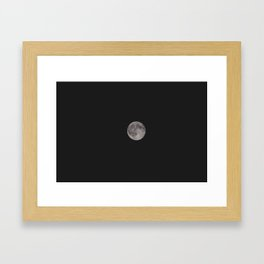 Classic Full Moon Framed Art Print