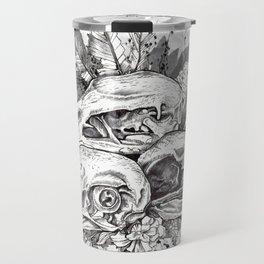 Skull Pile Travel Mug