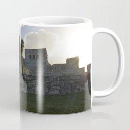 Sunrise Over Mayan Ruins Coffee Mug