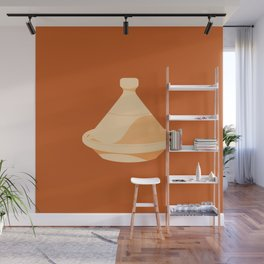 MADE IN MOROCCO #03-THE COOKING POT Wall Mural