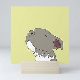 Sunny The Pitbull Puppy Mini Art Print