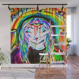 Under The Rainbow Wall Mural