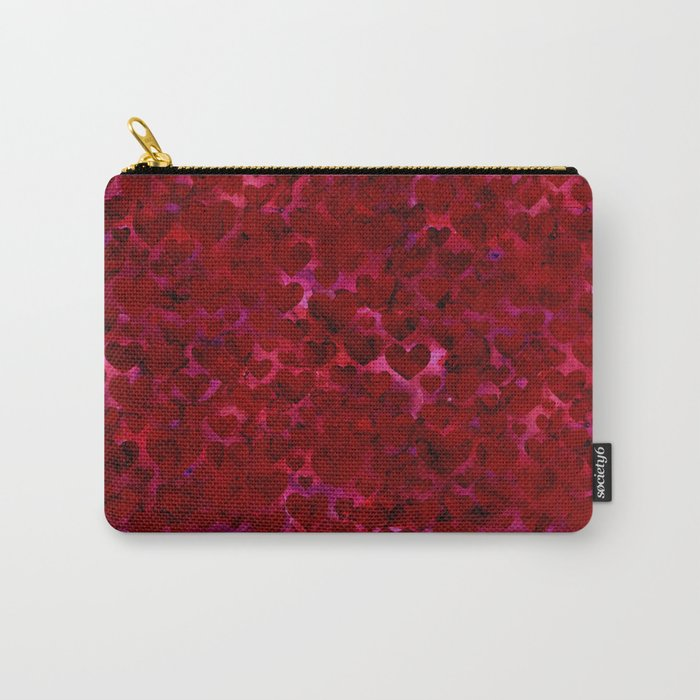 Heart Pattern 06 Carry-All Pouch