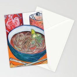 Ode To Pho Stationery Cards