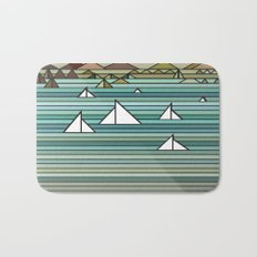Sailing - Turquise Sea Bath Mat