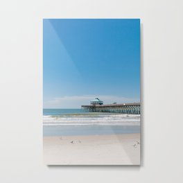 Folly Beach III Metal Print