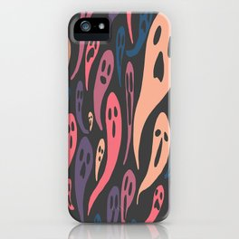 Ghosts-Pastel iPhone Case