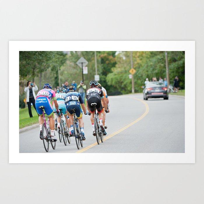 UCI World Tour - Cycling 2013 Art Print