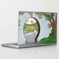 mulan Laptop & iPad Skins featuring Mulan by Lesley Vamos