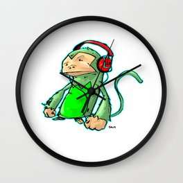 Phonics Munkey Wall Clock